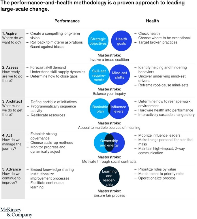 The five frames of performance and health | McKinsey